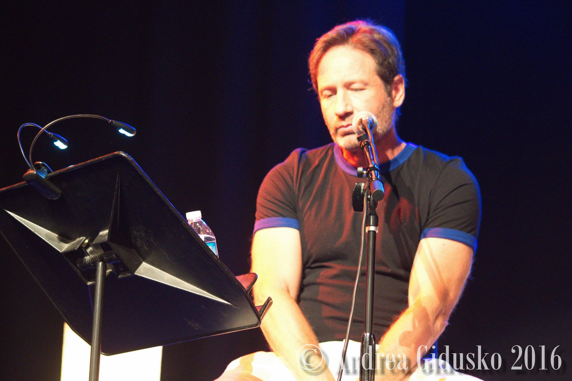 s of David Duchovny Book SigningReading of Bucking Fcking